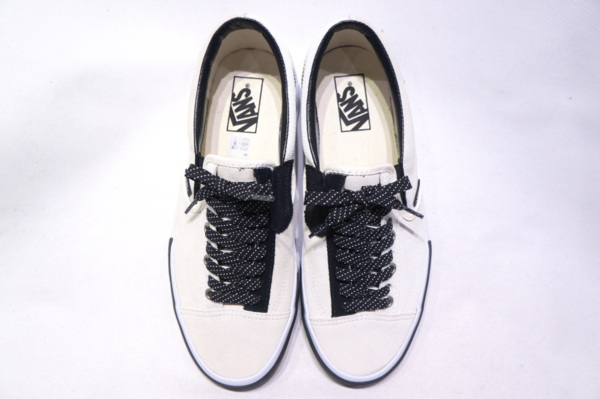 【VANS ACCOUNT 48】 SLIP ON CAP -REFLECTIVE MARSHMALLOW BLACK- VN0A3WM5TUU