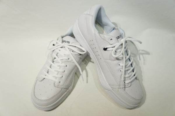 【GRAVIS】 TARMAC DLX -WHITE BLACK- 01000