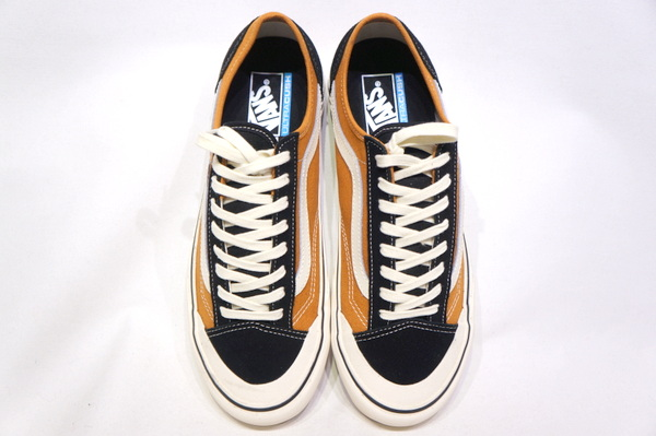 【VANS ANAHEIM】 STYLE36 DECON SF -PUMPKIN SPICE ANTIQUE WHT- VN0A3MVL25T