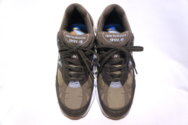 【NEW BALANCE 】 M991.9LP -BROWN- 【MADE IN ENGLAND】