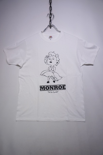 【HOMMAGE TEE】MONROE -WHITE-