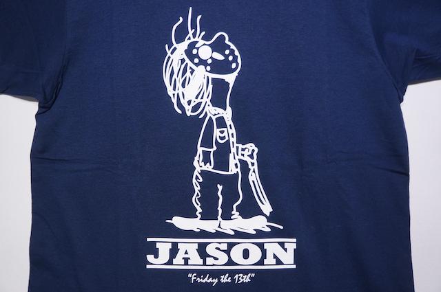 【HOMMAGE TEE】JASON -NAVY-
