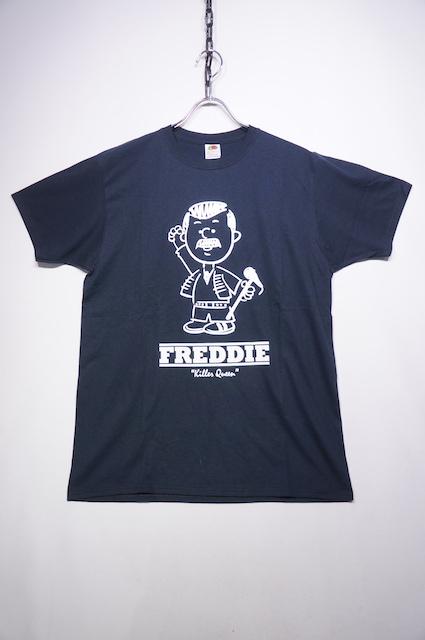 【HOMMAGE TEE】FREDDIE -BLACK-