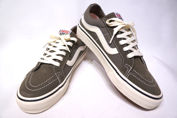 【VANS SURF】 SK8 LOW REISSUE SF -SALT WASH CANTEEN ANTIQUE WHITE- VN0A4UWI2V7