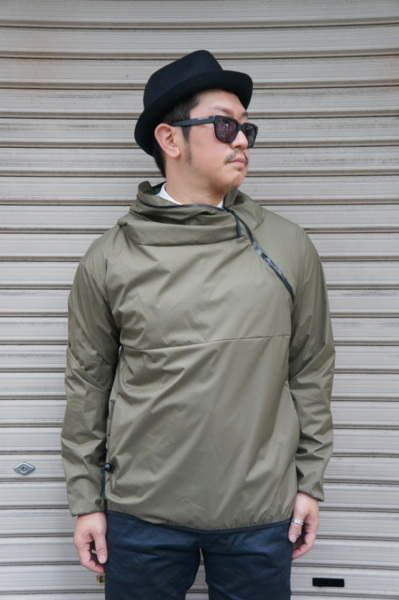 【CAMP SERVICE】 SLASH PARKA -OLIVE-