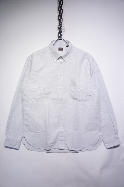 【SUGRCANE】 SELVEDGE OX FORD BD SHIRT -GRAY- SC28002