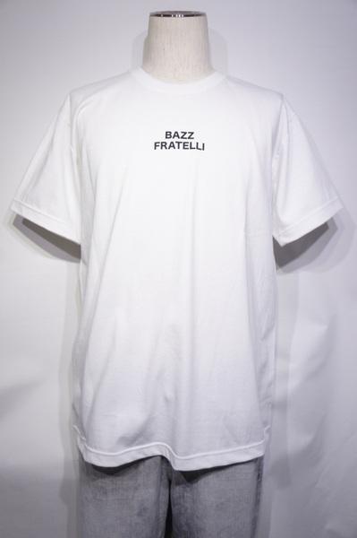 【BAZZ FRATELLI】 BAZZ LOGO TEE 13 STARS -WHITE-