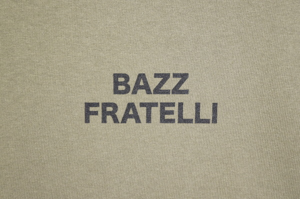 【BAZZ FRATELLI】 BAZZ LOGO TEE 13 STARS -OLIVE-