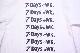 【ONEITA】7DAYS A WK LONG SLEEVE TEE -WHITE-