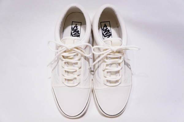 【VANS LIFESTYLE】 UA OLD SKOOL GHILLIE -LEATHER MARSH MALLOW- VN0A3TKIFH9