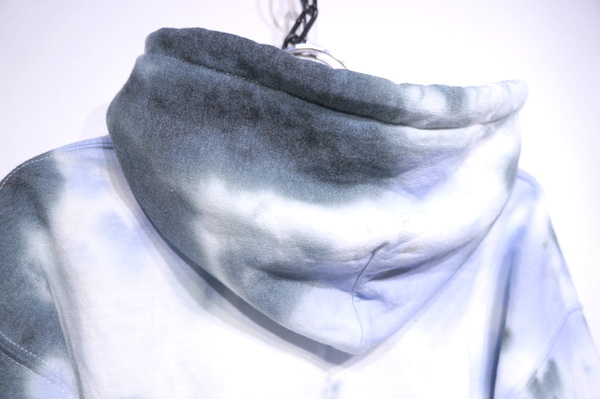【TIE DYE COLLECTION】 THE HOODIE -BLUE-