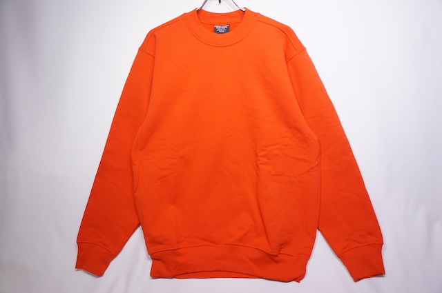 【BAYSIDE】 CREW NECK SWEAT -RED-
