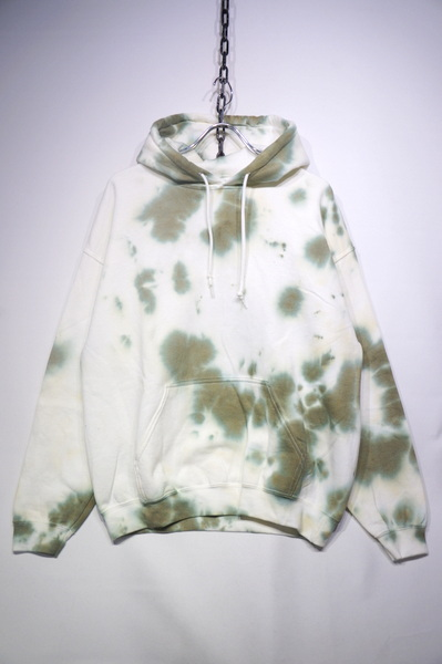 【TIE DYE COLLECTION】 THE HOODIE -GREEN-