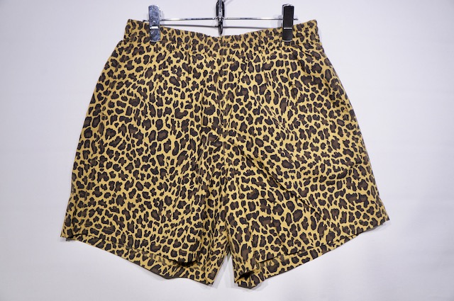 【BARLAP OUTFITTER】TRACK SHORT SOLID -LEOPARD-
