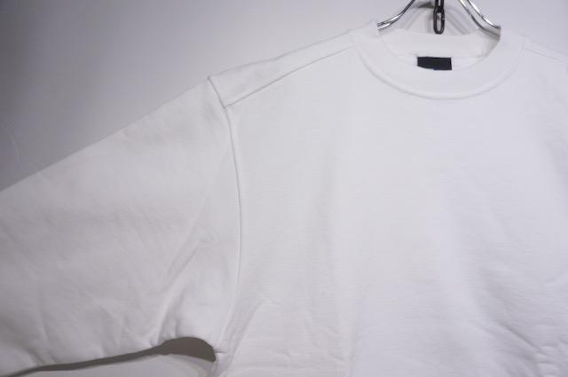 【BAYSIDE】 CREW NECK SWEAT -WHITE-