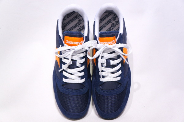 【SAUCONY】 JAZZ VINTAGE -NAVY ORANGE- 2044-2