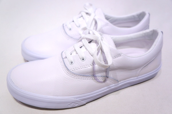 【TOP SIDER SPERRY】 STRIPER 2 CVO LEATHER -WHITE- STS17751