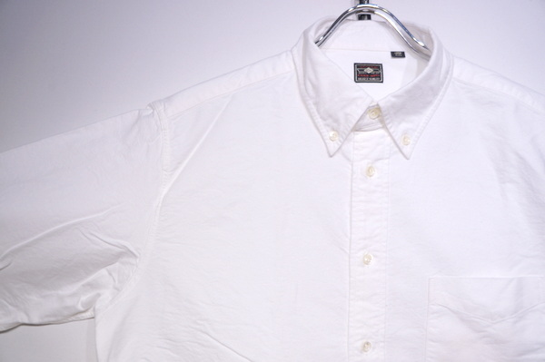【SUGRCANE】 SELVEDGE OX FORD BD SHIRT -WHITE- SC28002