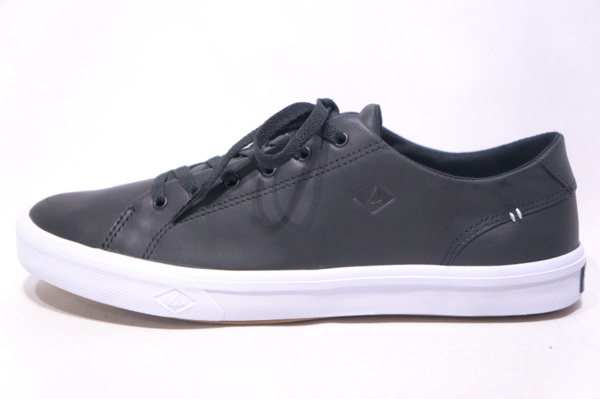 【TOP SIDER SPERRY】 STRIPER 2 LTT LEATHER -BLACK- STS17714
