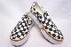 【VANS LIFESTYLE】 CLASSIC SLIP ON STACKED -CHECKER BOARD MULTI TRUE WHITE- VN0A4TZVVLV