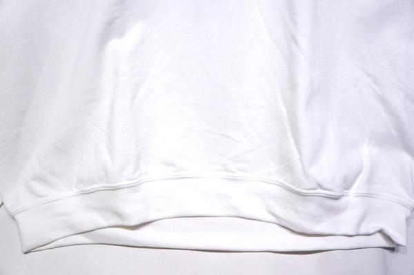 【THRIFTY LOOK】 PRINT CREW NECK SWEAT-WHAM WHITE-