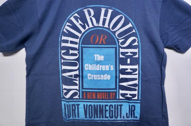 【OUT OF PRINT】SLAUGHTERHOUSE FIVE -SLATE BLUE-