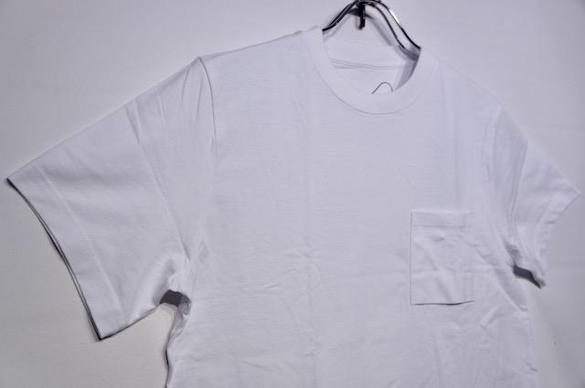 【SHELTECH】REGULAR TEE -WHITE-