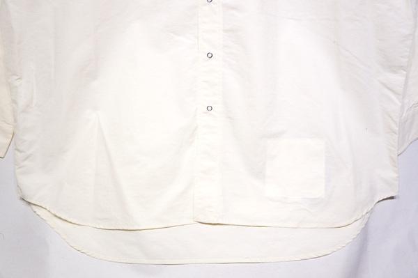 【BURLAP OUTFITTER】 LS BB SHIRT  -WHITE-