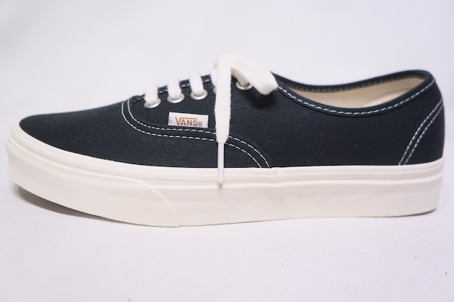 【VANS LIFESTYLE】 AUTHENTIC ECO THEORY -BLACK NATURAL- VN0A5HZS9FN