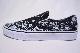 【VANS LIFESTYLE】 CLASSIC SLIP ON -BANDANA BLACK TRUE WHITE-