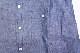 【LEITEMOTIF】 RAGLAN BD SHIRT -CHAMBRAY INDIGO- 【FLEAKER MODEL】