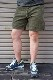 【SUNLIGHT BELIEVER】 70S CORD SHORTS -PIG OLIVE-