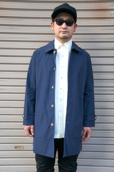 【LE MINOR】THINSULATE 6040 COAT -NAVY-
