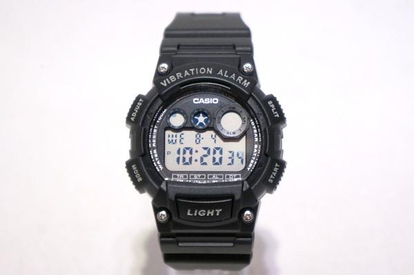 【CASIO】 WATCH -BLACK- W-735H-1AVDF