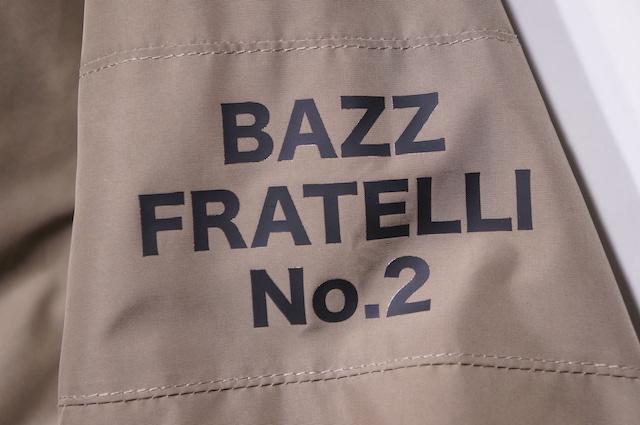 【BAZZ FRATELLI】 BAZZ COACH JACKET 2 -KHAKI-