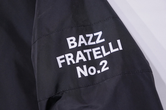 【BAZZ FRATELLI】 BAZZ COACH JACKET 2 -BLACK-