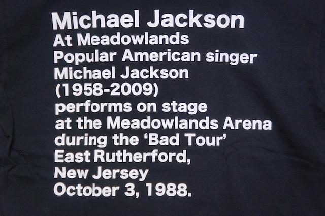 【SCREEN STARS】MICHAEL JACKSON -BLACK-