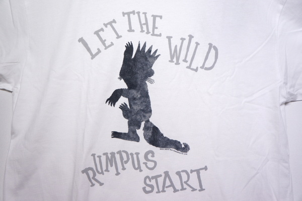 【OUT OF PRINT】 LET THE WILD RUMPUS START-WHTE-