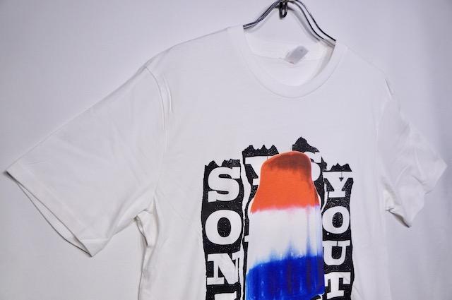 【ROCK TEE】 SONIC YOUTH BOMP POP -WHITE-