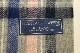 【HIGHLAND TWEEDS】 STOLE 74X180 -ALLERTON SILVER- T053A01