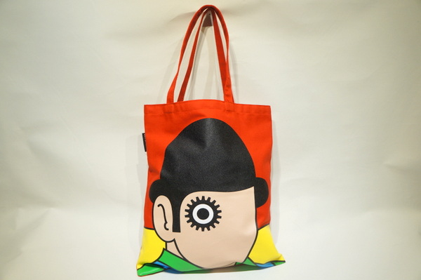 【OUT OF PRINT】 A Clock work Orange TOTE BAG -RED-