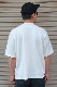 【BAZZ FRATELLI】 BAZZ W POCKET RELAX TEE  -WHITE-