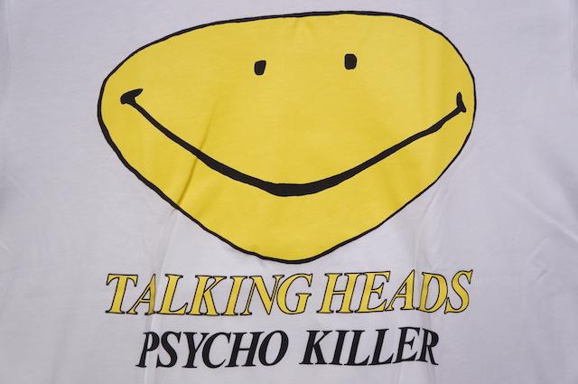 【MUSIC TEE】 TALKING HEADS -WHITE-
