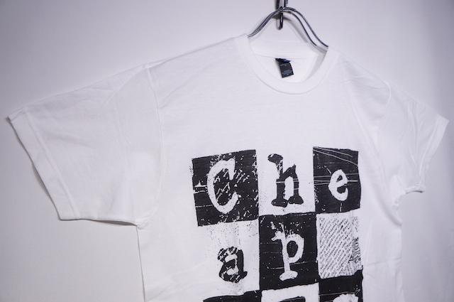 【MUSIC TEE】 CHEAP TRICK -WHITE-
