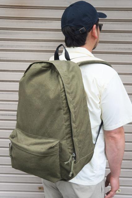【T.K GARMENT SPPLY】 US TENT BACK PACK -OLIVE- TKR-B1906