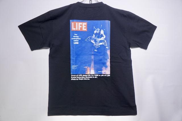 【SCREEN STARS】 LIFE TEE LEM -BLACK-