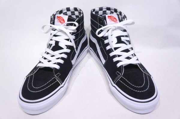 【VANS LIFESTYLE】 SK8-HI TAPE RED -DIY BLACK TRUE WHITE- VN0A4U16U7B