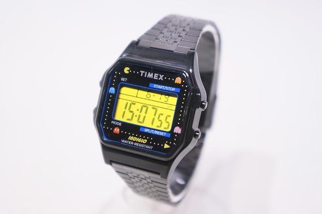 【TIMEX】 TIMEX80 PACMAN 40ANNIVERSARY MODEL -BLACK- TW 2U32100 YB