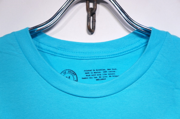 【OUT OF PRINT】 DO ANDROIDS DREAM OF ELECTRIC SHEEP T SHIRT -TAHITI BLUE-