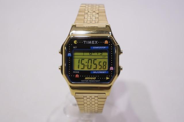 【TIMEX】 TIMEX80 PACMAN 40ANNIVERSARY MODEL -GOLD- TW 2U32000 YB